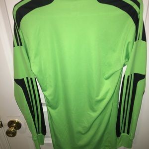 Adidas soccer goalie jersey (large)